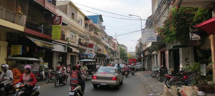 Back to a Big City in Phnom Penh