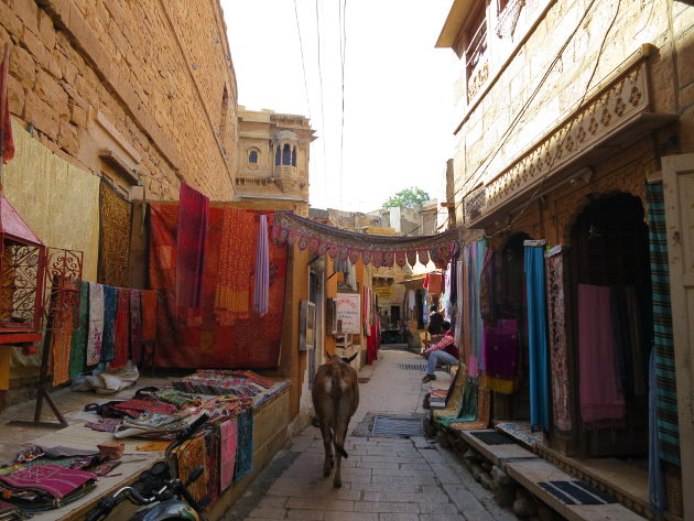 Street of Jaisalmer