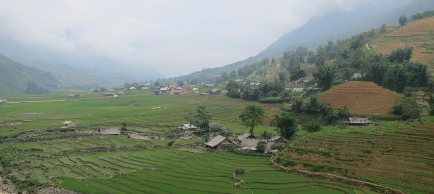Getting Some Fresh Air in Sapa