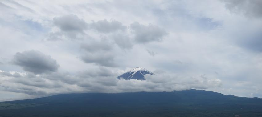 Hard to Get a Glance at The Shy Mt Fuji