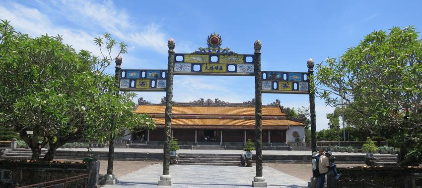 In the Steps of the Emperor in Hue