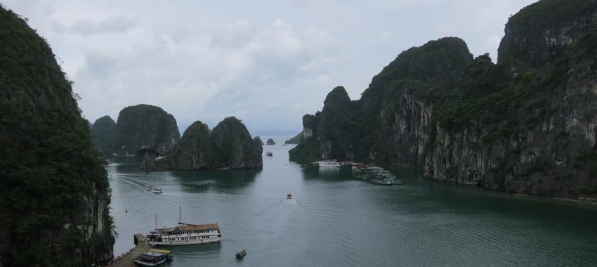 One Night in Halong Bay