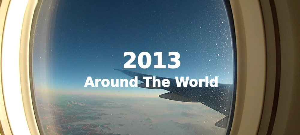 One Year Around The World In Video