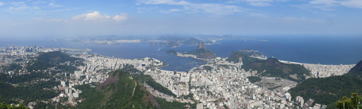 View from the Corcovado