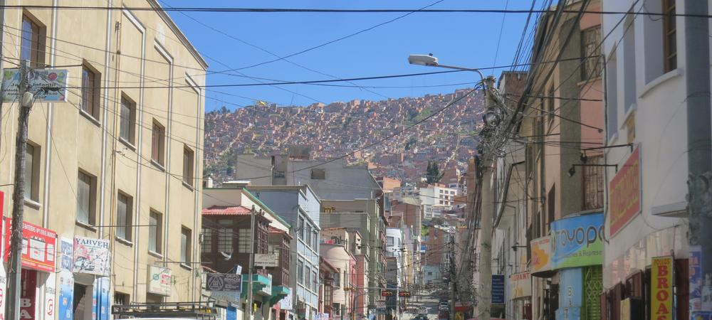 Short Of Breath In La Paz