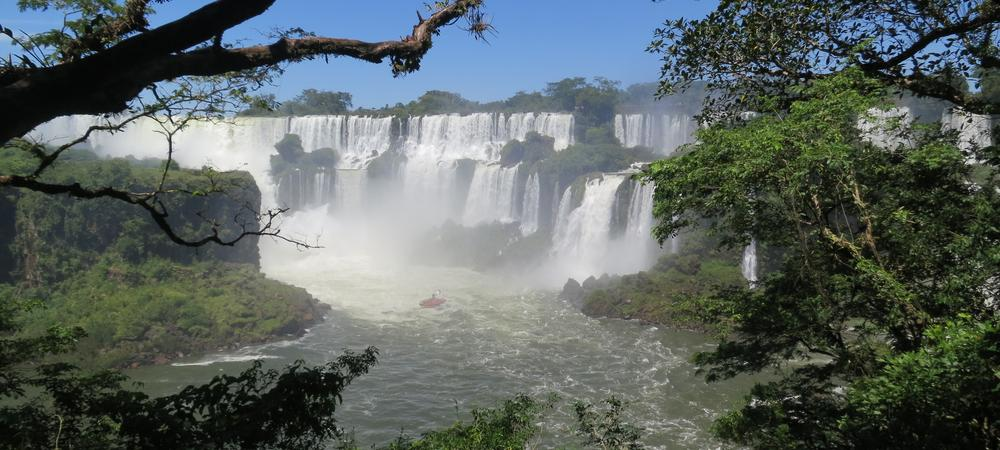 The Raw Power of Iguazu Falls