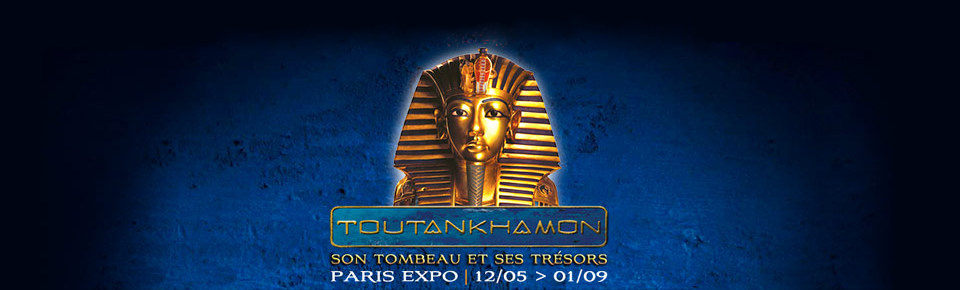 Tutankhamun exhibition in Paris