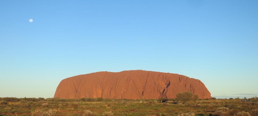 Visiting Another Planet in Uluru